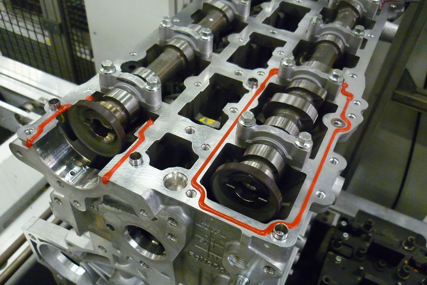 Loctite 5189 is used to seal highly stressed joints on the 1.6 liter EcoBoost engines at Ford