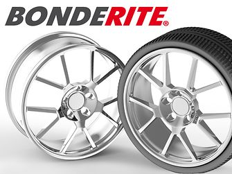 Innovations Q2/2016: Our products for the pretreatment of light metals like aluminium in the automotive industry optimize both processes and performance. The innovative coating solution Bonderite M-NT 4595 provides outstanding adhesive properties and corrosion protection for wheels.