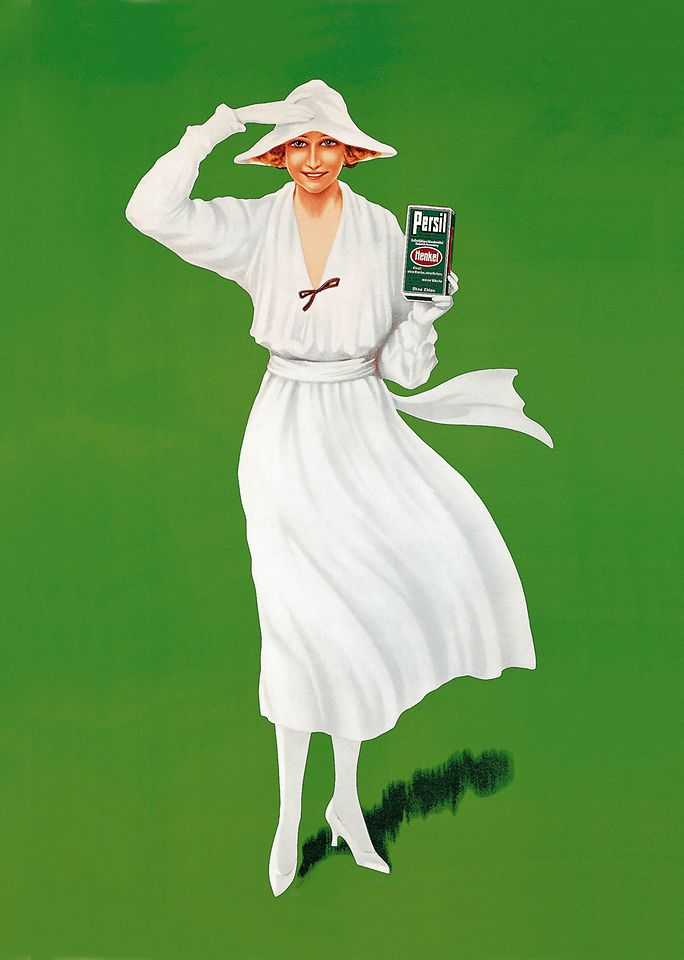 1922: An advertising icon is born – the White Lady.