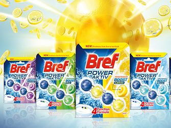 Innovation Laundry & Home Care: Bref Power Aktiv