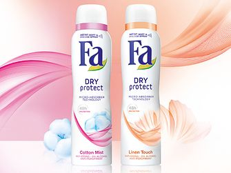 Innovation Beauty Care: Fa Dry Protect