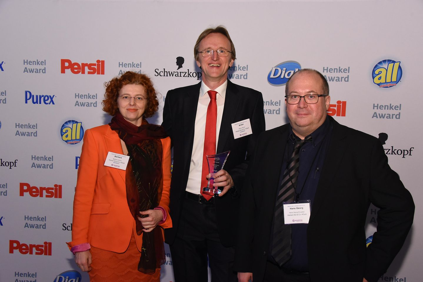 Sustainability Award Beauty Care / Agrana (runner-up): Barbara Amon, Anton Amon, Georg Knübel