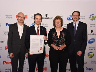Best Innovation Contributor Laundry & Home Care / IFF (winner): Arndt Scheidgen, Axel Schröter, Judy Kerschner, Michael Dreja