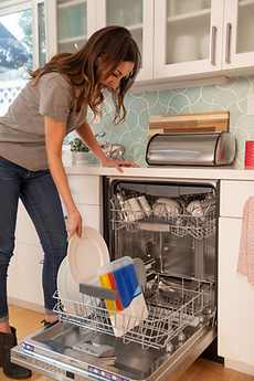 With Somat Smart, consumers don't need to add a detergent in the dishwashing machine for every load.