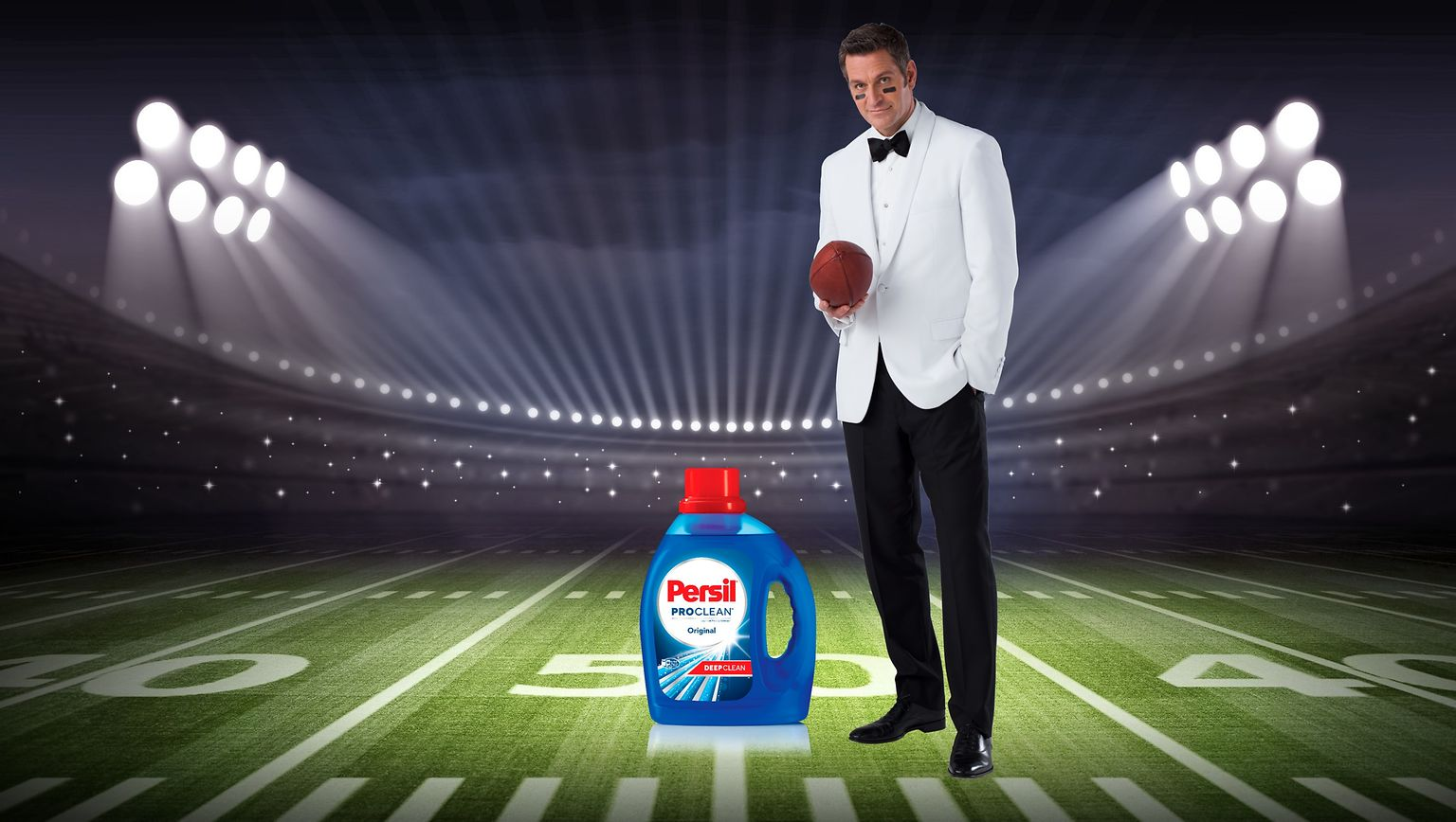 "The Persil Brand's Super Bowl commercial saw the return of Peter Hermann as ""The Professional"" and showcased the exceptional deep-cleaning power of Persil ProClean."